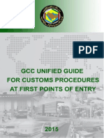 GCC Unified Guide for Customs Procedures