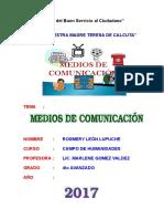 Trabajo - MEDIOS DE COMUNICACION.doc