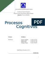 Proceso Cognitivo. Uneg