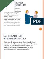 Charla Relaciones Interpersonale