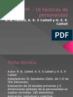 16 PF – 16 Factores de Personalidad