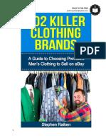 102 Killer Clothing Brands (PDF)