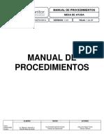 Manual de Procedimientos Mesa de Ayuda