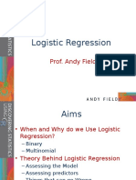 Dsur i Chapter 08 Logistic Regression