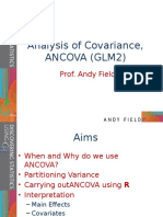 Dsur i Chapter 11 Analysis of Covariance Ancova Glm2
