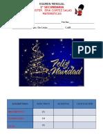 Examen Mensual Noviembre 2016