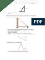 Evaluacion Trigonometria 01 Pitagoras, Razones y Converciones