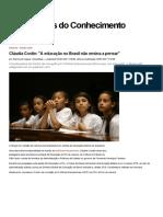 Cláudia Costin_ _A Educação No Brasil Não Ensina a Pensar_ — CartaCapital