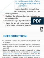 Introduction to concepts of risk and return of a single asset and of a portfolio.pptx