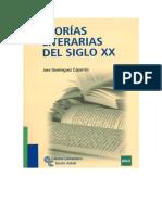 Dominguez Caparros Teorias Literarias Del s.xx