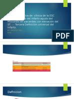 Guía de Practica de Clínica 3ra Definicion Universal de Infarto