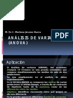 Análisis de Varianza (ANOVA) (1)