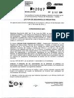 Resol 12007 de 2014