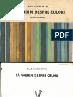 Sa Vorbim Despre Culori