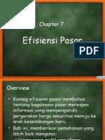 Wk 7. Efisiensi Pasar