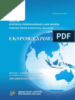 Buletin Statistik Perdagangan Luar Negeri Ekspor Menurut HS Oktober 2016