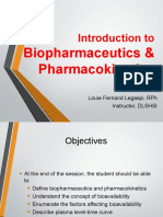 1 Introduction - Biopharmaceutics
