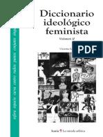 Victoria Sau - Diccionario Ideológico Feminista II