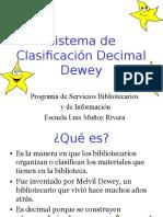 Sistema de Clasificacion Dewey