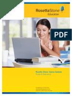Rosetta Stone English Contents_Programa