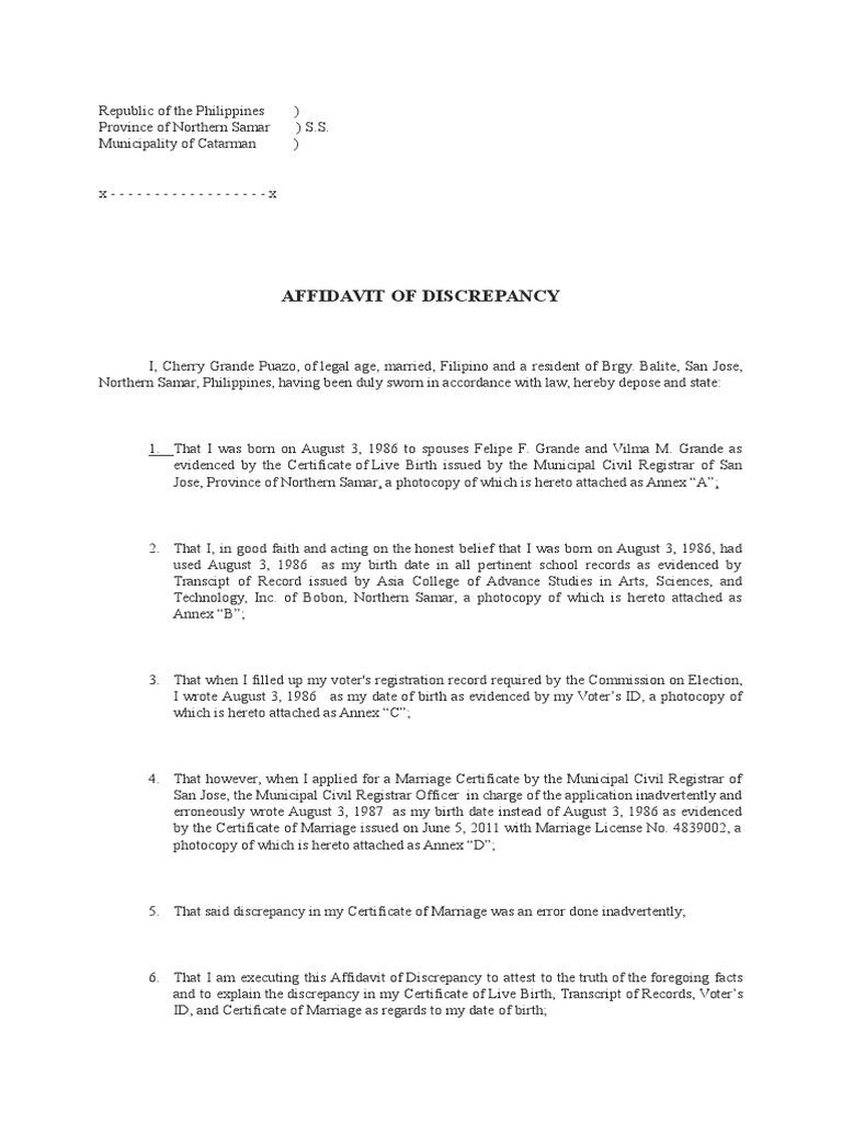 Affidavit letters of good faith simple loan agreement form affidavit letters of good faith free sample letters of resignation 1514611592v1 affidavit xflitez Gallery