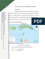 BAB v Gambaran Umum Wilayah Provinsi Maluku