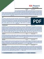 IEA Report 31st January