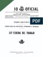 Ley Federal Del Trabajo 1931