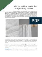 À La Recherche de Meilleur Qualité Bon Marché Tissu en Ligne - Pretty Mercerie