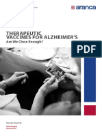 Therapeutic Vaccines for Alzheimer