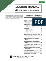FAX207 Installation Manual E1  11-11-02