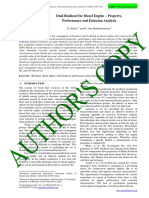International Energy Journal PAPER Dual Biodiesel for Diesel Engines