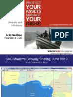 GoG Martime Security Briefing Jun 2013