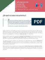 Diseno e Implementacion de Curriculum Con Pertinencia Cultural