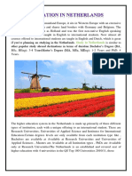 Education in Netherlands