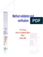 Method Validation and Verification