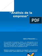 Analisis Organizacional 30-01-2017
