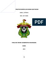 Struktur Morfologi Rumah Adat Bugis