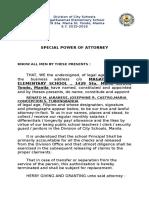 Special Power of Attorney-bir