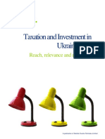 Deloitte Guide on Ukraine Taxation
