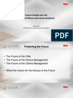 P12 Alissa Holz -RGA Future Trends and Risk in Critical Illness and Cancer Products