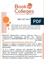 MH CET 2017, Exam Date, Application Form, Eligibility, Pattern, Syllabus, Admit Card & Result