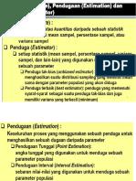 0.Estimasi Parameter