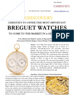 Important Breguet Watches (Christie's, Geneva, May 2012)