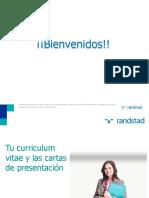 1 - Workshop CV y Cartas de Presentación