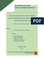 Informe de Investogación Cualitativa Al
