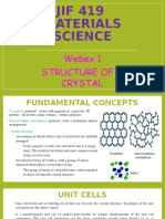 JIF 419 - Webex 1 (10.9.2016) - Structure of a Crystal