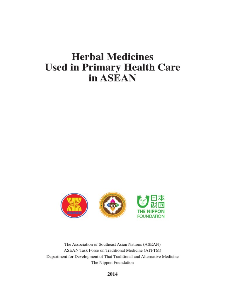 Herbal Medicines Used in PHC in ASEAN-For ASEC | Common Cold | Adverse  Effect