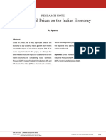 Impact of Oil Prices on the Indian Economy.pdf