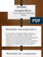 Relatii interspecifice